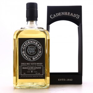 Craigellachie 2009 Cadenhead's 9 Year Old Small Batch