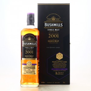 Bushmills 2001 Feuillette Cask Finish / The Causeway Collection - TWS