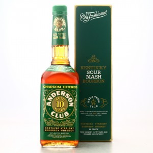 Anderson Club 10 Year Old Kentucky Straight Bourbon 1995