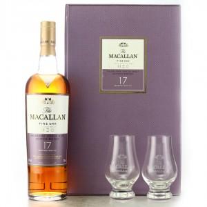 Macallan 17 Year Old Fine Oak Gift Pack