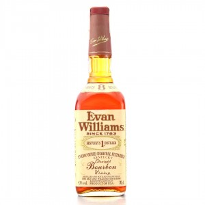 Evan Williams 8 Year Old Kentucky Straight Bourbon 1991