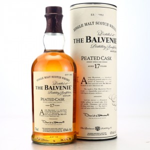 Balvenie 17 Year Old Peated Cask 75cl / US Import