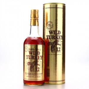 Wild Turkey 12 Year Old 101 Proof 1991