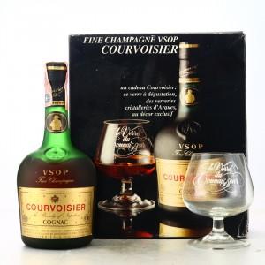 Courvoisier VSOP Fine Champagne Cognac Gift Pack 1970s