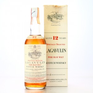 Lagavulin 12 Year Old White Horse early 1970s / Carpano Import