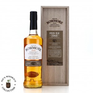 Bowmore 1988 Bourbon Cask 24 Year Old / Feis Ile 2013