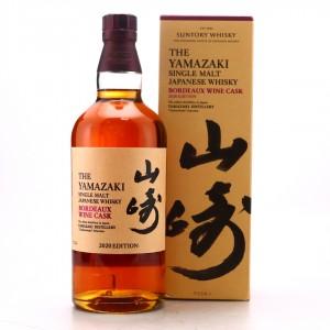 Yamazaki Bordeaux Wine Cask 2020 Edition