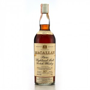 Macallan 1957 Campbell, Hope and King 80 Proof / RinaldiImport