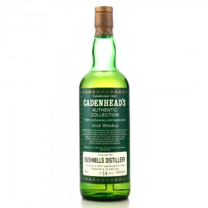 Bushmills 1977 Cadenhead's 14 Year Old / 150th Anniversary