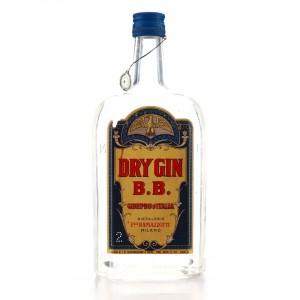 B.B. Dry Gin 1950s