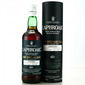 Laphroaig 2005 Vintage Cask 'PX, I Love You' 75cl / Loch & Key