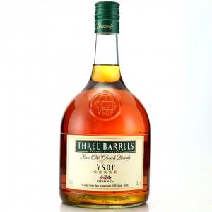 Three Barrels VSOP French Brandy 1.5 Litre