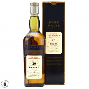 Brora 1975 Rare Malts 20 Year Old 75cl / 59.1% - US Import