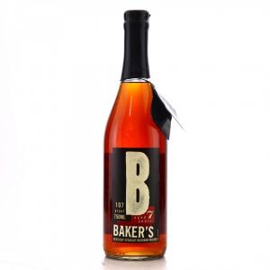 Baker's 7 Year Old 107 Proof Kentucky Straight Bourbon #B-90-001