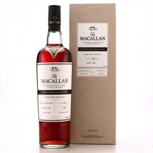 Macallan 2003 Exceptional Cask #9064-03 / 2018 Release