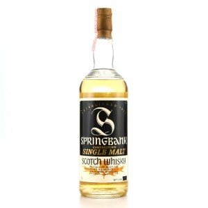 Springbank 10 Year Old Cask Strength 1980s / A Sutti Import