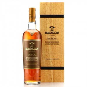 Macallan Edition No.1 Wooden Box