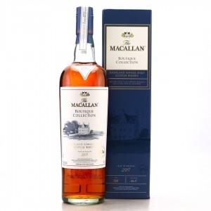 Macallan Boutique Collection 2017 Release