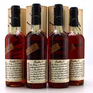 Booker's 7 Year Old Kentucky Straight Bourbon #2015-02 4 x 75cl