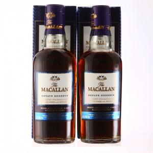 Macallan Estate Reserve Miniature x 2