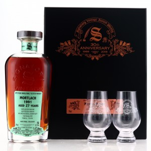 Mortlach 1991 Signatory Vintage 27 Year Old Cask Strength / 30th Anniversary