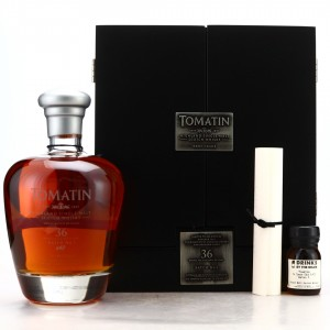 Tomatin 1977 Rare Casks 36 Year Old Batch #1 / Includes Sample