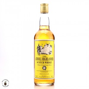 Atholl Highlander Scotch Whisky 1990s