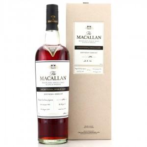 Macallan 1996 Exceptional Cask #13561-07