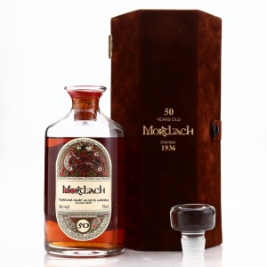 Mortlach 1936 Gordon and MacPhail 50 Year Old Decanter 'Book of Kells'