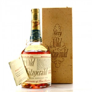Very Old Fitzgerald 1950 Bottled in Bond 8 Year Old 100 Proof Half Pint / Stitzel-Weller