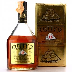 Cutty Sark 12 Year Old 1980s