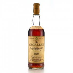 Macallan 1970 18 Year Old 75cl / US Import