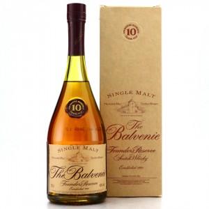 Balvenie 10 Year Old Founder's Reserve Cognac Bottle