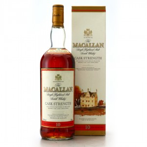 Macallan 10 Year Old Cask Strength 1 Litre early 2000s / 58.8%