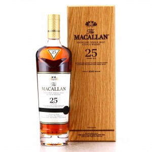 Macallan 25 Year Old Sherry Oak 2018 Release