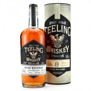Teeling Whiskey 18 Year Old Single Marsala Cask #54911 / 5th Birthday
