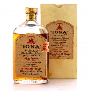 Iona 12 Year Old Blended Scotch Whisky 1958 / US Import