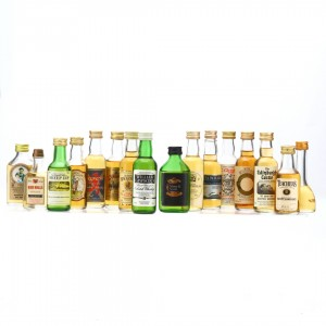 Blended Whisky Miniature x 16