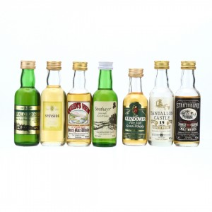 Scotch Malt Whisky Miniatures x 7