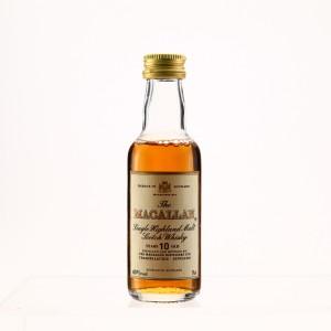 Macallan 10 Year Old Miniature 1990s