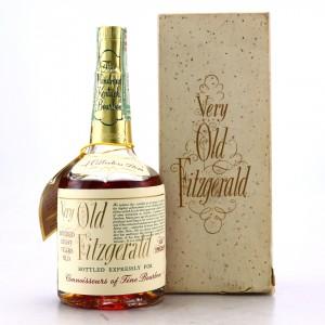 Very Old Fitzgerald 1965 Bottled in Bond 8 Year Old 100 Proof Half Pint / Stitzel-Weller