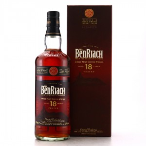Benriach Albariza 18 Year Old Peated PX Wood Finish