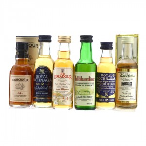 Highland Single Malt Miniature x 6
