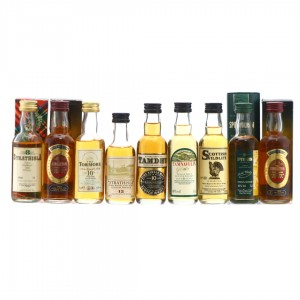 Speyside Single Malt Miniatures x 9