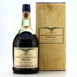 Louis de Salignac 75 Year Old Fine Champagne Cognac 1960s