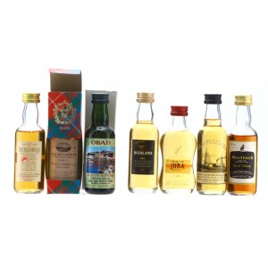 Single Malt Miniatures x 7