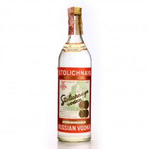 Stolichnaya Vodka 1980s