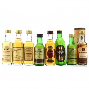 Single Malt Miniatures x 8