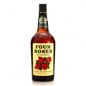 Four Roses Blended Whiskey Quart 1960s