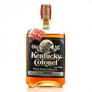 Old Kentucky Colonel 1917 Sour Mash Pint / Prohibition Era Bottling